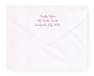 Personalized Envelopes
